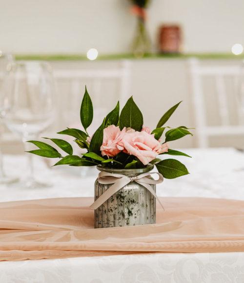 Voál:Látka pudrově růžová 8,5 m2